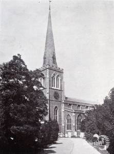 The Warrior Chapel, St. Mary's Church, Wimbledon Village