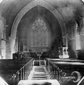 Interior of Christchurch, Colliers Wood