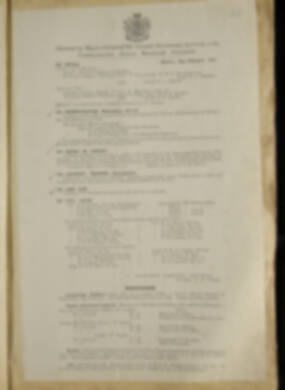 Routine Orders - June 1918 - April 1919 - Page 255