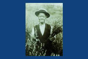 Mitcham Lavender grower, William Mitchell,