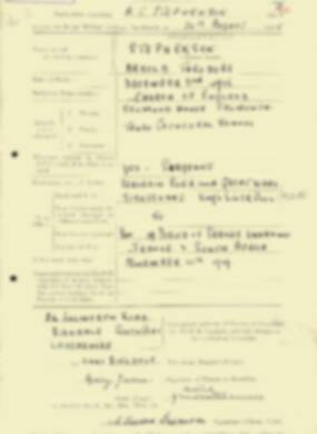 RMC Form 18A Personal Detail Sheets Aug 1935 Intake - page 195