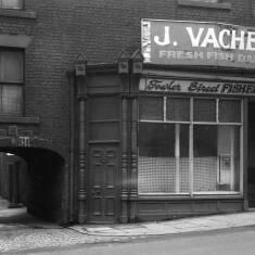 Fish Shop In Fowler Street, South Shields