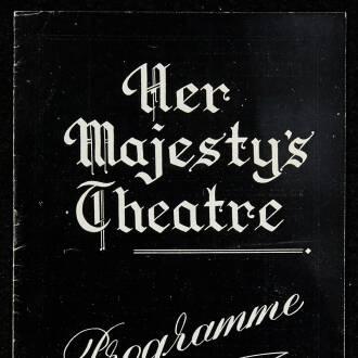 Her Majesty's Theatre, Brighton, November 1952