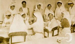 Splint Workers - Wimbledon War Workers' Depot