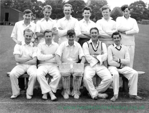Unknown cricket team XI.