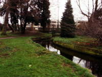 Ravensbury Park Estate, Footbridge.