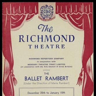Richmond Theatre, December 1952
