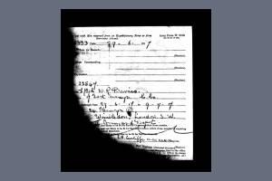 Service Record - William Reginald Davies