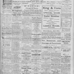 Hereford Journal - 11th April 1914