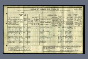 1911 Census Grays, Essex