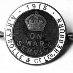 World One Service Badge