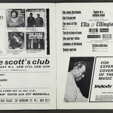 Duke Ellington Orchestra British Tour – February 1967 009