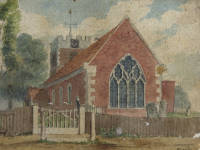 St Lawrence's Church, London Road, Morden