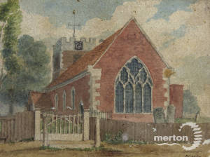 St Lawrence's Church, London Road, Morden