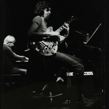 Michael Garrick and John Etheridge (left to right)