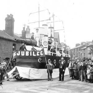 Diamond jubilee celebrations in 1897.