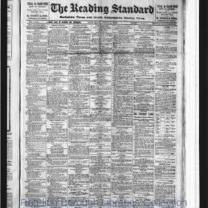 Reading Standard Etc 07-1919