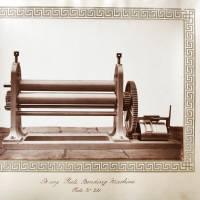 B size plate bending machine