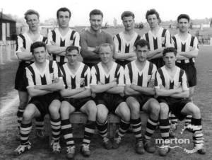 Tooting and Mitcham Football Club : Team photo.