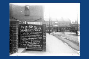 Winskell Glass Merchant: Haydons Road, No.1, Wimbledon