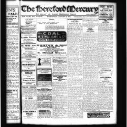 Hereford Mercury - 1919