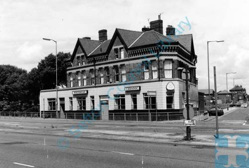 """The Caradoc"" public house, on the corner of Crosby Road South and Seaforth Road,1987"