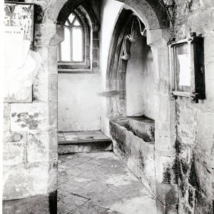 Volka Chapel, Kingsland Church, Herefordshire, interior, 1932
