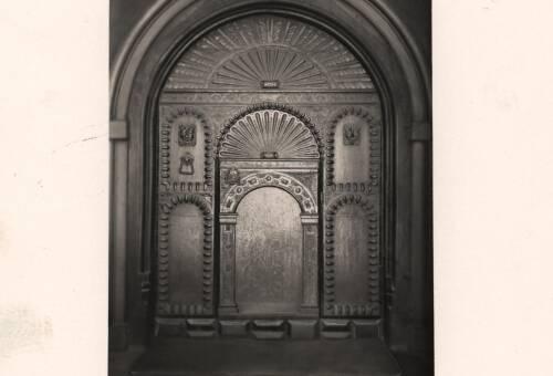The Guildhall door, c1900, Exeter