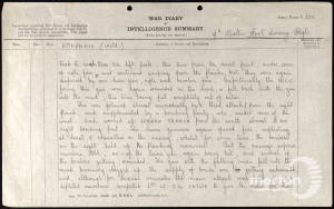 War Diary (Page 2) for 9th Battalion, East Surrey Regiment - 5 August 1917