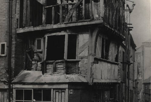 'The House That Moved', 1961, Exeter