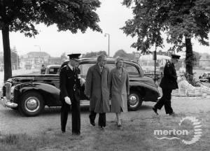 Alderman and Mrs. T. Ruff, Mayor and Mayoress of Mitcham, 1961-62