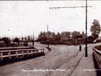 Croydon Road, Mitcham: View from Blue House bridge