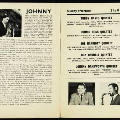Chris Barber's Jazz Band with Ottilie Patterson, National Jazz Festival, Richmond - 1962 007