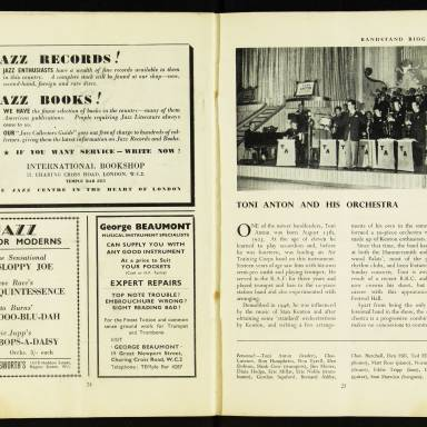 National Federation of Jazz Organisations, Royal Festival Hall - 1955 014