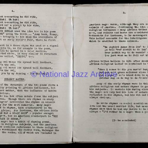 Northern Society For Jazz Study Vol.1 No.3 0003