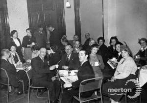 Social evening for the Mitcham Civil Defence Corps.