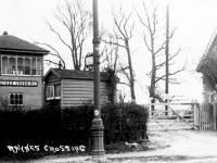 Raynes Park Railway Level Crossing