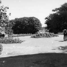 Gardeners in South Marine Park, South Shields