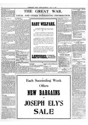 7 JULY 1917