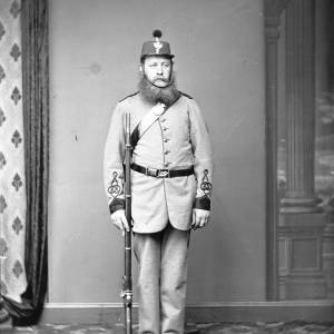 Soldier in uniform, possibly Belgian