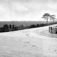 Orrell Lane view from Railway Bridge, Bootle, 1918