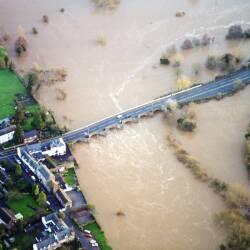 Ross-on-Wye floods December 2000
