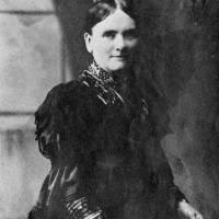 Mrs James Walker, co-founder of Linacre Mission, Litherland, 1880s