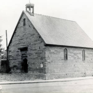 St Giles Church, exterior, 1925