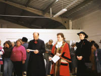 Opening of new hall by Mayor, Councillor McCabe, St Mark's Church, Mitcham