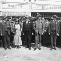 Southport Fairground Amusements, c1925.