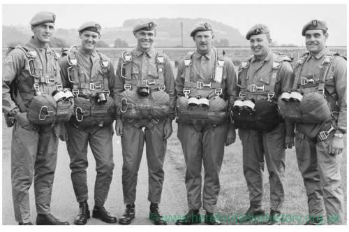 S.A.S Parachute Team