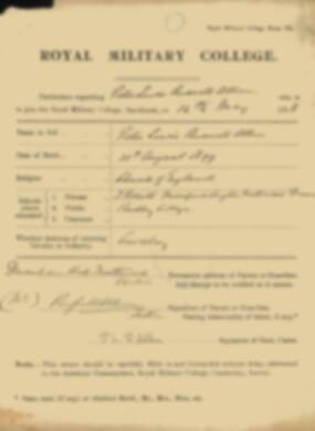 RMC Form 18A Personal Detail Sheets May & Sept 1918 - page 4