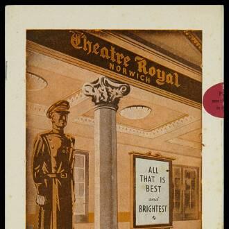 Theatre Royal, Norwich, November 1953