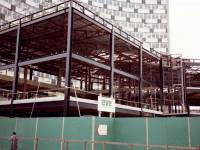 Construction of new Civic Centre and library extension, Morden.
